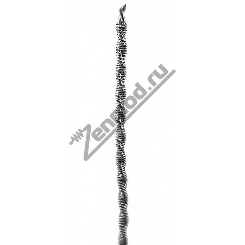 Fused Clapton Wire 2*0.3мм SS316 + 0.1мм Kanthal, 1м