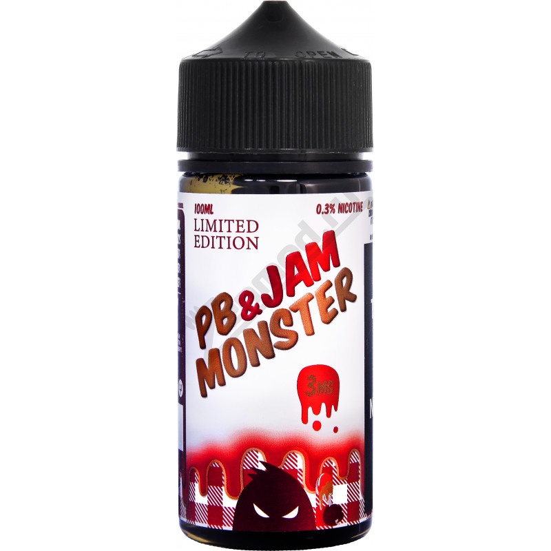 Jam Monster - PB and Strawberry 100мл